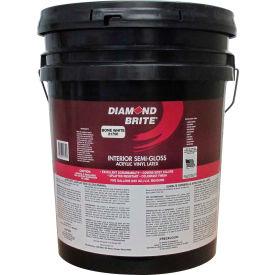Diamond Brite Interior Semi-Gloss Paint, Bone White 5 Gallon Pail 1/Case - 21750-5