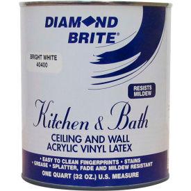 Diamond Brite Latex Kitchen & Bath Paint, 32 Oz. Pail - 40400-4