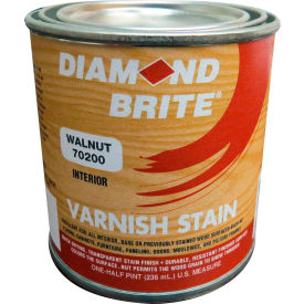 Diamond Brite Oil Varnish Stain Paint, Walnut 8 Oz. Pail 6/Case - 70200-6
