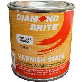 Diamond Brite Oil Varnish Stain Paint, Light Oak 8 Oz. Pail 6/Case - 70300-6