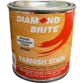 Diamond Brite Oil Varnish Stain Paint, Brown Mahogany 8 Oz. Pail 6/Case - 70500-6