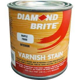 Diamond Brite Oil Varnish Stain Paint, Maple 8 Oz. Pail 6/Case - 70600-6