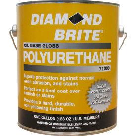 Diamond Brite Oil Gloss Polyurethane Paint, Gallon Pail 1/Case - 71000-1