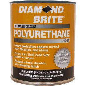 Diamond Brite Oil Gloss Polyurethane Paint, 32 Oz. Pail - 71000-4