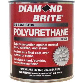Diamond Brite Oil Satin Polyurethane Paint, 32 Oz. Pail - 72000-4