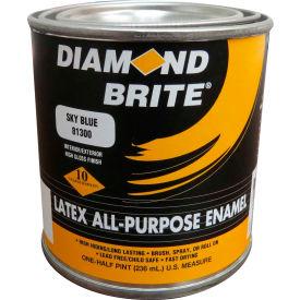 Diamond Brite Latex Gloss Enamel Paint, Yellow 8 Oz. Pail 6/Case - 81300-6