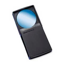 "Bausch & Lomb Packette High Power Magnifier, 5X Magnification, 1.42"" Diameter Lens, Acrylic"
