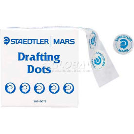 """Staedtler® Drafting Dots, 999172DBK, .88""""Dia., 500/Roll, Blue"""