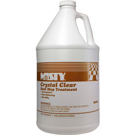 Misty® Crystal Clear Dust Mop Treatment, Gallon Bottle, 4 Bottles - 1003411
