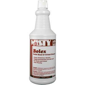 Misty® Bolex Toilet Bowl & Urinal Cleaner - Quart Bottle, 12 Bottles/Case - 1038799