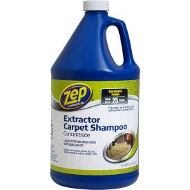 Zep® Commercial Extractor Carpet Shampoo Concentrate, Gallon Bottle, 4 Bottles - ZUCEC128