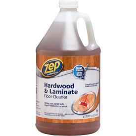 Zep® Hardwood & Laminate Floor Cleaner, Gallon Bottle, 4 Bottles - ZUHLF128