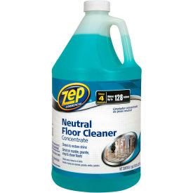 Zep® Neutral Floor Cleaner Concentrate, Gallon Bottle, 4 Bottles - ZUNEUT128