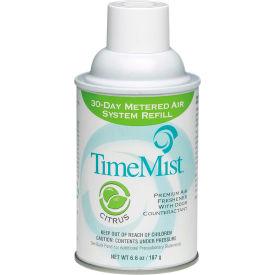 TimeMist® Premium Metered Air Care Refills, Citrus - 6.6 oz. Can, 12 Cans/Case - 1042781