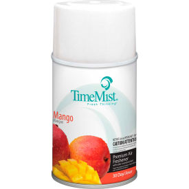 TimeMist® Premium Metered Air Care Refills, Mango - 6.6 oz. Can, 12 Cans/Case - 1042810