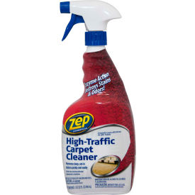Zep® High-Traffic Carpet Cleaner, 32 oz. Bottle, 12 Bottles - ZUHTC32
