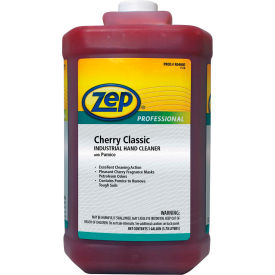 Zep Professional Cherry Classic Industrial Hand Cleaner W/ Pumice, 4 Gal. Bottles - 1046473