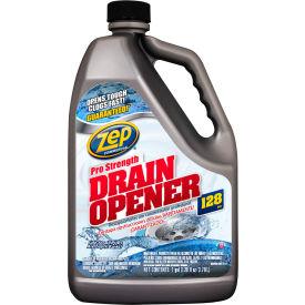 Zep® Commercial Drain Opener, Gallon Bottle, 4 Bottles - 1047518