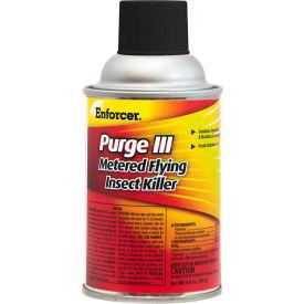 Enforcer® Purge III Metered Flying Insect Killer, 6.4 oz. Aerosol Spray, 12 Cans - EPRGFIK7