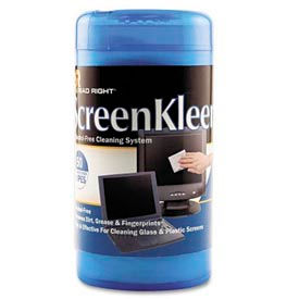 Read Right® ScreenKleen Monitor Screen Wet Wipes, 50/Pack - REARR1491