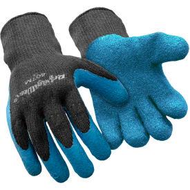 Premium Thermal ErgoGrip Glove, Blue & Black - Medium