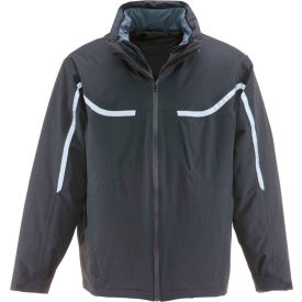 RefrigiWear® 3-in-1 Insulated Jacket, Black, 20° Comfort Rating, 5XL, 0431RBLK5XL