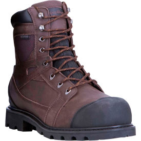 RefrigiWear Barricade™ Leather Boots, Brown, -20°F Comfort Rating, Size 8