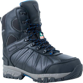 RefrigiWear® Exteme Freezer Boot, Black, -40° to 10° Rating, Size 14, 190CRBLK140