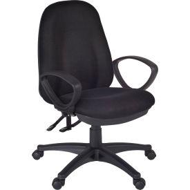 Regency Fabric Task Chair - Black - Momentum Series