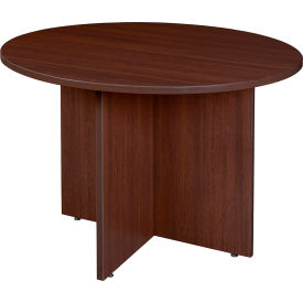 """Regency Conference Table - Round 42"""" - Java - Legacy Series"""