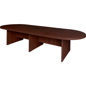 """Regency Conference Table - Oval - 144"""" x 52"""" - Java - Legacy Series"""