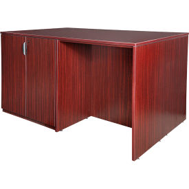 Regency Stand Up 2 Storage Cabinet - 2 Desk Quad - Mahogany - Legacy Series