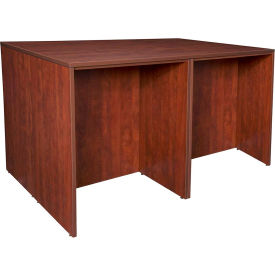 Regency Stand Up 2 Desk - Storage Cabinet - Lateral File Quad - Cherry - Legacy Series