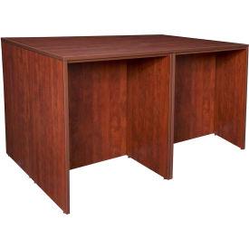 Regency Stand Up Desk Quad - Cherry - Legacy Series