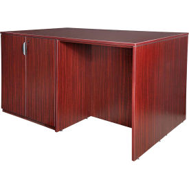 Regency Stand Up Desk - 3 Storage Cabinet Quad - Mahogany - Legacy Series