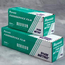 Reynolds® Metro Light-Duty Foodservice Film Roll with Cutter Box