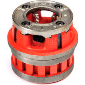 RIDGID 37105 Manual Threading/Pipe and Bolt Die Heads Complete w/Dies