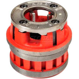 Manual Threading/Pipe and Bolt Die Heads Complete w/Dies, RIDGID 37410