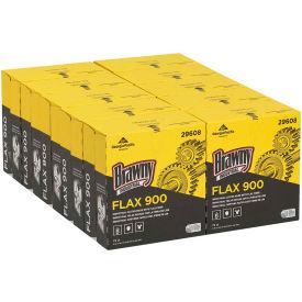 GP Brawny Industrial White FLAX 900 Heavy Duty Cloths, 72 Cloths/Box, 10 Boxes/Case - 29608