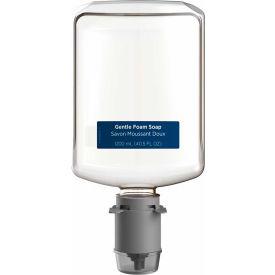 GP Pacific Blue Ultra Gentle Foam Soap, Fragrance-Free 1200 mL Refill, 4 Refills/Case - 43714