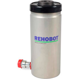 "REHOBOT 51277, Single Acting Aluminum Hollow Bore Cylinder CHFA376P, 40.3 Tons, 6"" Stroke"