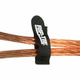 "Rip-Tie, 1"" x 3"" EconoCatch, B-H3-E20-BK, Black, 20 Pack"