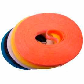 "Rip-Tie, 1/2"" x 8"" RipWrap, G-P8-045-BU, Blue, 45 Piece Roll"