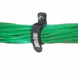 """Rip-Tie, 3/4"""" x 5"""" EconoCinch-EG, K-05-GEX, Black, 200 Pack"""