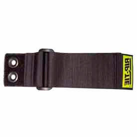 """Rip-Tie, 1"""" x 7"""" CinchStrap-EG, N-07-G02-BK, Black, 2 Pack"""