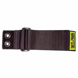 """Rip-Tie, 1"""" x 28"""" CinchStrap-EG, N-28-G10-BK, Black, 10 Pack"""