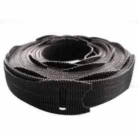 "Rip-Tie, 1/2"" x 12"" Lite Plus, Q-12-075-BK, Black, 1 Roll"