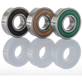 ORS 62302-2RS Deep Groove Ball Bearing - Wide Width Double Sealed 15mm Bore, 42mm OD