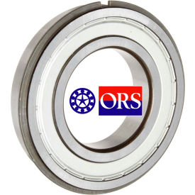 ORS 6306ZZNR Deep Groove Ball Bearing - Double Shielded Snap Ring 30mm Bore, 72mm OD