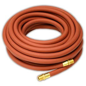 """Reelcraft S601015-100 3/8""""x100' 300 PSI Nylon Braided PVC Low Pressure Air/Water Hose"""